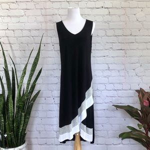 Design History Black and White Sporty Dress